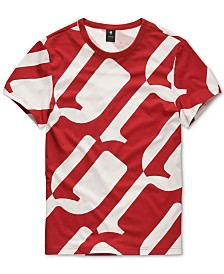 G-Star RAW Men's Geometric T-Shirt, Created for Macy's