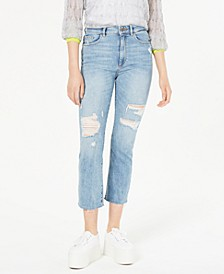 Jerry High-Rise Straight-Leg Jeans