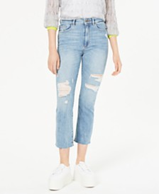 DL 1961 Jerry High-Rise Straight-Leg Jeans