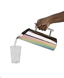 Mind Reader Rainbow Stainless Steel Water Pitcher