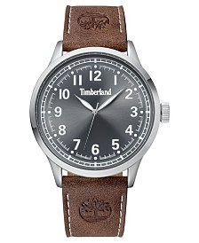 Timberland Men's Alford Brown/Silver/Gray Watch