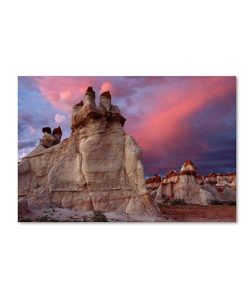 "Trademark Global Mike Jones Photo 'Blue Canyon Dusk' Canvas Art - 47"" x 30"" x 2"""