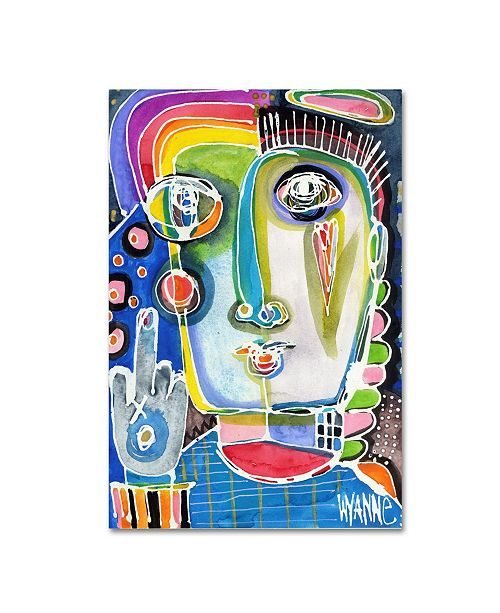 """Trademark Global Wyanne 'Sometimes You Have To Say Forget This Stuff' Canvas Art - 24"""" x 16"""" x 2"""""""