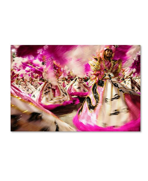 "Trademark Global Robert Harding Picture Library 'Dancing In Color' Canvas Art - 32"" x 22"" x 2"""