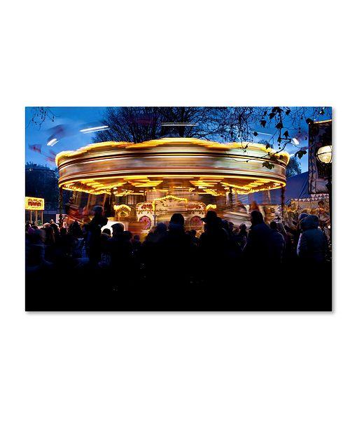 "Trademark Global Robert Harding Picture Library 'Carousel' Canvas Art - 32"" x 22"" x 2"""