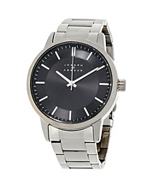 Men's Analog Stainless Steel Watch