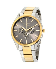 Joseph Abboud Men's Analog Two-Tone Stainless Steel Bracelet Watch 28mm