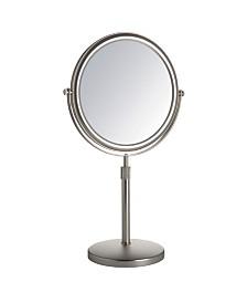 "The Jerdon JP4045N 9"" Tabletop Two-Sided Swivel Vanity Mirror"