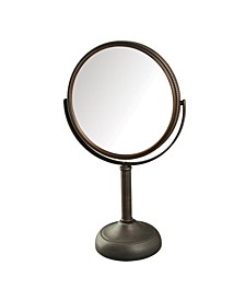 "The JP918BZB 8"" Tabletop Two-Sided Swivel Vanity Mirror"