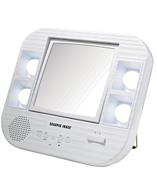 The Sharper Image J1025 LED Lighted Makeup Mirror