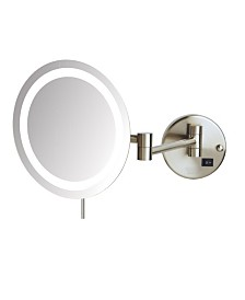 The Sharper Image JRT718NL LED Lighted Wall Mount Mirror