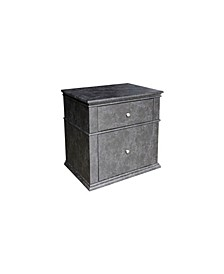 Jackson Modern Upholstered 2-Drawer Bedroom Nightstand