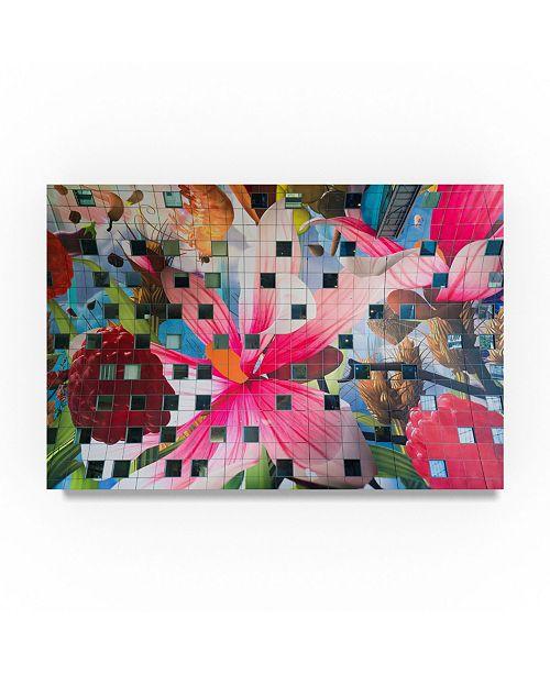 """Trademark Global Moises Levy 'Market' Canvas Art - 32"""" x 22"""" x 2"""""""