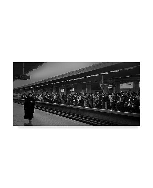 "Trademark Global Nader Farid 'Stranger' Canvas Art - 24"" x 2"" x 12"""