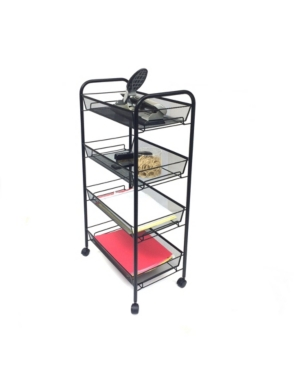 Mind-Reader-All-Purpose-Utility-Cart-with-Wheels-Heavy-Duty-Trolley-Light-Weight-Cart-Kitchen-Office-Bathroom-Home