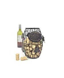 Mind Reader Wine Barrel Cork Holder, Wine Cork Holder, Cork Storage