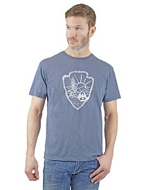 Mountain and Isles Arrow Graphic Tee