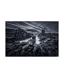 "Joshua Zhang 'Iron World' Canvas Art - 19"" x 2"" x 12"""