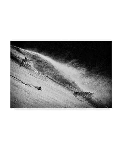 "Trademark Global Peter Svoboda 'Race Against The Wind' Canvas Art - 47"" x 2"" x 30"""