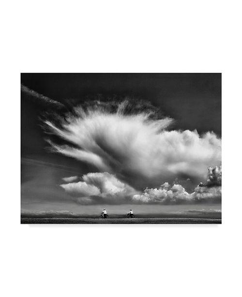 "Trademark Global Yvette Depaepe 'Amongst The Clouds' Canvas Art - 24"" x 2"" x 18"""