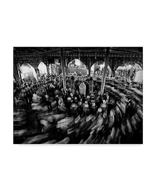 """Trademark Global Reza Vaezpour 'Spiral Mosque' Canvas Art - 19"""" x 2"""" x 14"""""""