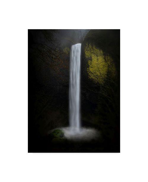 "Trademark Global Shenshen Dou 'Latourell Falls' Canvas Art - 14"" x 2"" x 19"""