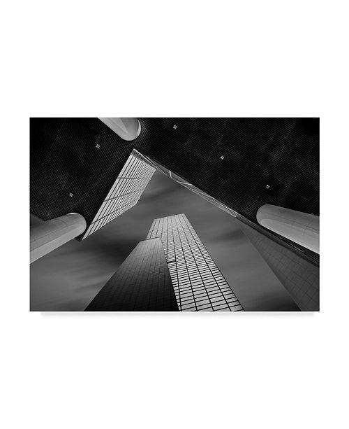 """Trademark Global Jef Van Den 'Meeting Of Shapes' Canvas Art - 19"""" x 2"""" x 12"""""""