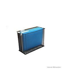 Mind Reader File Storage Box/Basket for Letters, Legal Documents, Filing Documents, Folders, Office Organizer