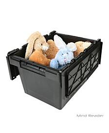 Heavy Duty Plastic Crate Storage Bin