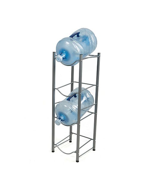 Mind Reader 4 Tier Stainless Steel Heavy Duty Water Cooler Jug Rack