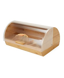 Mind Reader Large Capacity Bread Box Storage Container