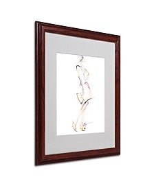 "Jennifer Lilya 'Purse Your Hips' Matted Framed Art - 16"" x 20"" x 0.5"""
