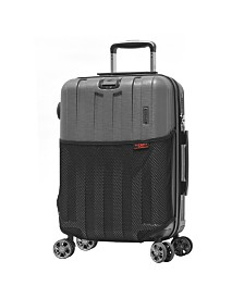 """Olympia USA Sidewinder PC Expandable 21"""" Carry-On Spinner"""