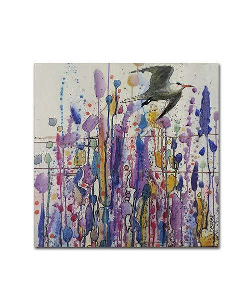 "Trademark Global Sylvie Demers 'Libre Voie' Canvas Art - 18"" x 18"" x 2"""