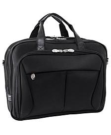 Pearson Expandable Double Compartment Laptop Briefcase
