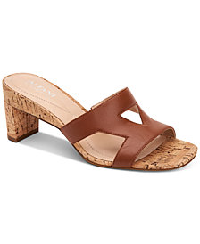Alfani Women's Larraa Dress Sandals, Created for Macy's