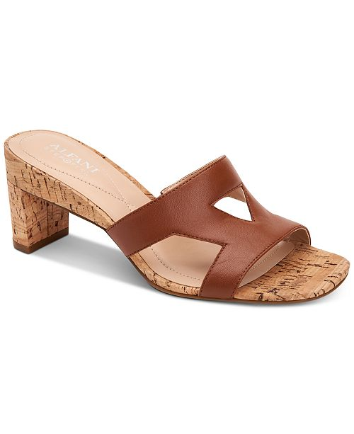Alfani Women's Larraa Dress Sandals, Created for Macy's