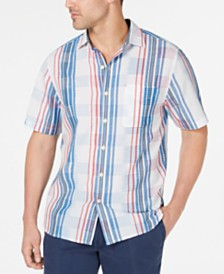 Tommy Bahama Men's La Pelosa Plaid Camp Shirt