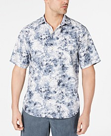 Men's The Mirragio IslandZone Floral-Print Camp Shirt