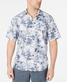 Tommy Bahama Men's The Mirragio IslandZone Floral-Print Camp Shirt
