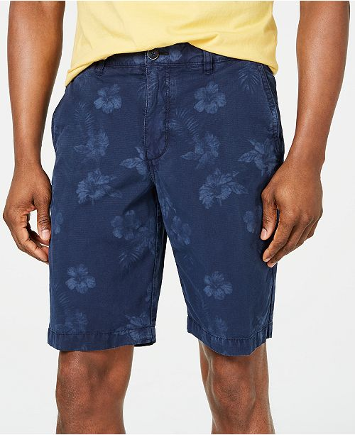 """Tommy Bahama Men's Maraggio 10"""" Stretch Floral-Print Ripstop Shorts"""
