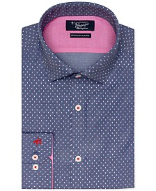 Original Penguin Slim Fit Comfort Stretch Dobby Dress Shirt