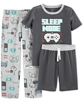 29c8518f6 Carter's Little & Big Boys 3-Pc. Sleep Mode Pajamas Set