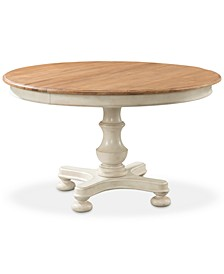 Cottage Round Expandable Dining Table
