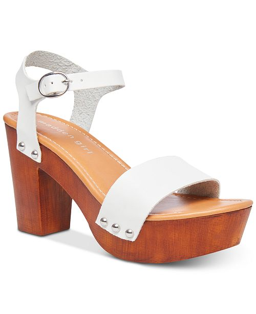 32e47216afb Lift Platform Sandals