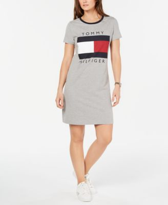 tommy hilfiger logo tank dress