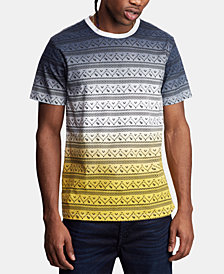 True Religion Men's Tribal Print T-Shirt
