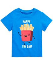 First Impressions Baby Boys Fry Day Graphic Cotton T Shirt Created For Macys