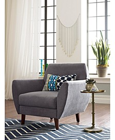 "Elle Décor 24"" Mid-Century Modern Amelie Arm Chair"