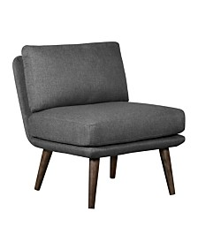 Tommy Hilfiger Pelham Armless Accent Chair, Quick Ship
